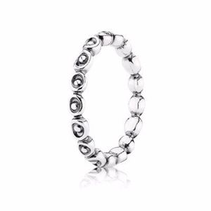 PANDORA Rare Circle and Dot Stackable Ring 6